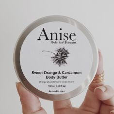 Sweet orange & cardamom body butter