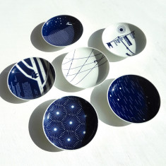 Australian collection porcelain plates (set of 8)