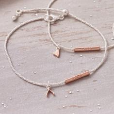 Lucky Wishbone Bracelet