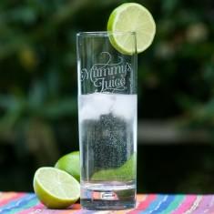 Mummy's Juice Gin Glass
