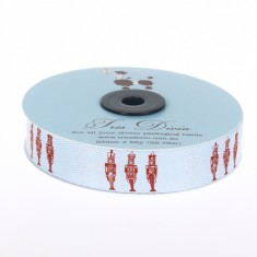 Christmas Twill Ribbon - Toy Soldiers
