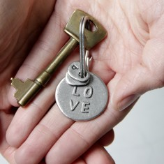 LOVE Keyring