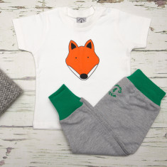Babies t shirt & pants fox set