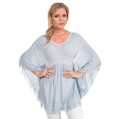 Ciara tunic in sky blue