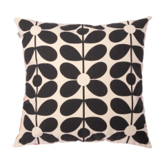 Orla Kiely cushion 60's stem poppy