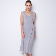 Summer breeze maxi dress - light grey