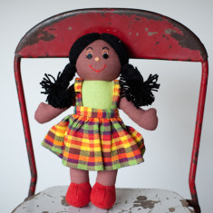 Hand woven small Anna doll