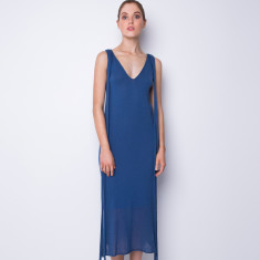 Summer breeze maxi dress - Powder blue