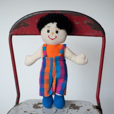 Hand woven small Tom doll