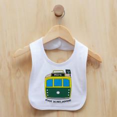 Personalised tram bib