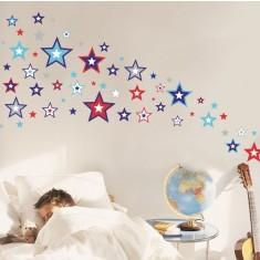 Super stars wall decal