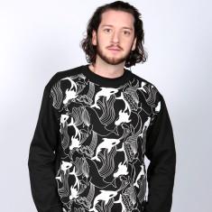 Orca Print Sweatshirt