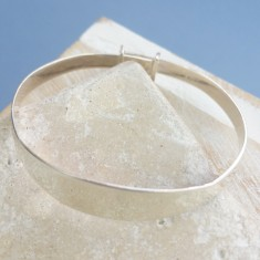 Solid Silver Baby Bangle