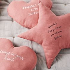 Star shaped If you don't chase your dreams Cushion