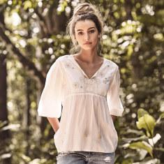 La paloma blanca blouse