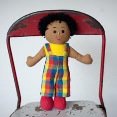Hand woven small Harry doll