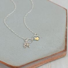 Personalised Infinite Love Necklace