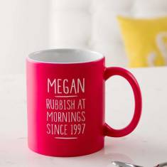 Personalised 21st Birthday Mug For Her