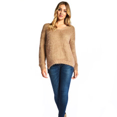 Laura Sweater in Caramel