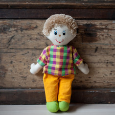 Hand woven large Jack doll