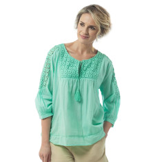 Aliya top in lucite green