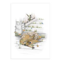 Deer baby print