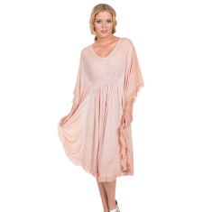 Ciara dress in dusty rose