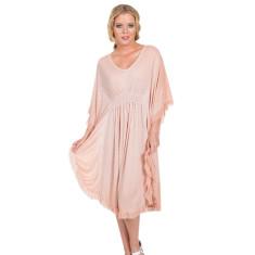 Ciara dress in dusty rose