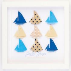 Sailing sensation personalised framed design