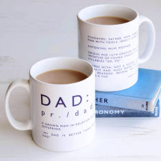 Definition of dad mug