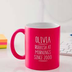 Personalised 18th Birthday Mug For Girls