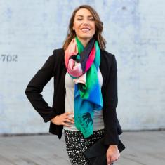 Michela Figo oversized scarf