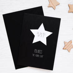 Polaris north star Christmas card (set of 3/5)