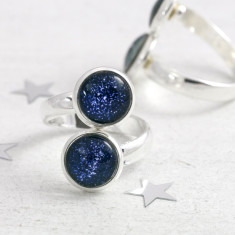 Adjustable Star Map Ring