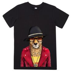 Cheetah kid's tee