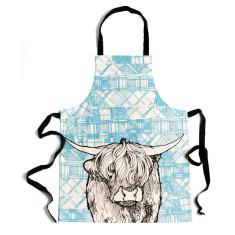 Tartan coo apron