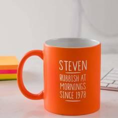 Personalised 40th Birthday Mug For Men