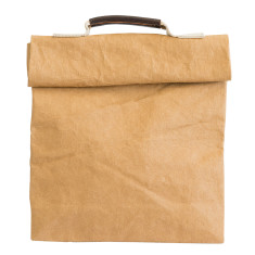 Lunch sack in luxe Italian washable paper