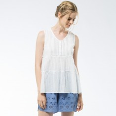Lenore -Top White