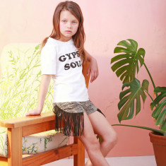 Gypsy Soul Tee White