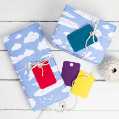 Cloud types gift wrap set