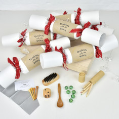 Christmas With The Personalised Crackers (Set Of Six)