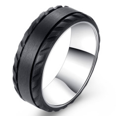 Custom Z-Force Carbon Fibre and Titanium Ring