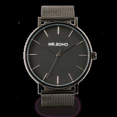 Mr Boho Metallic Classic Jet Watch