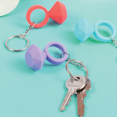 DOIY diamond keyring