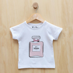 Personalised eau de parfum t-shirt
