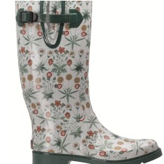 William Morris wellies