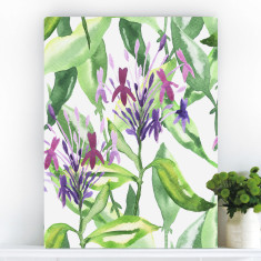 Botanical Garden Stroll | Canvas Art