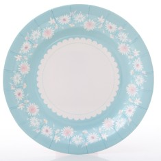 Daisy chain paper plates (2 packs)