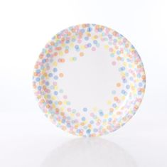 Confetti dot plates (2 packs)